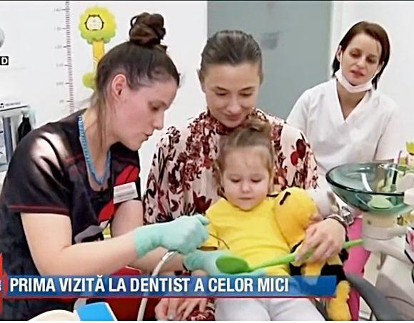Reportaj Kanal D @ Swiss Ecodent Klinik: Prima vizită la medicul la dentist – când, cum, unde?