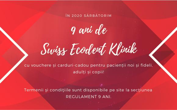9 ani de Swiss Ecodent Klinik!